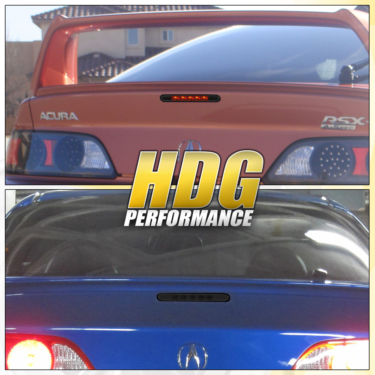 2006 Acura Tl Tail Lights For Sale: FITS ACURA RSX DC5 02-06 JDM REAR TRUNK BRAKE 3RD THIRD L