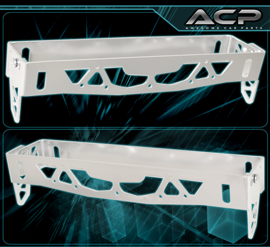 VIP ANGLE FRONT BUMPER LICENSE PLATE RELOCATION BRACKET