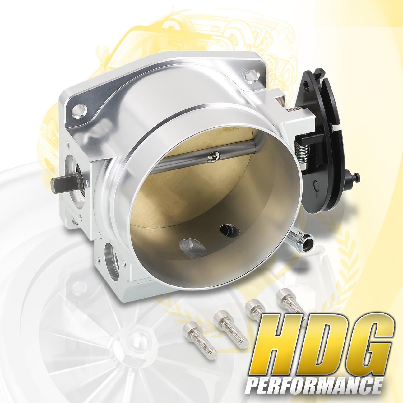 Ls1 Crank Sensor Bolt Size: 92mm Intake Manifold Throttle Body Plate Assembly Silver