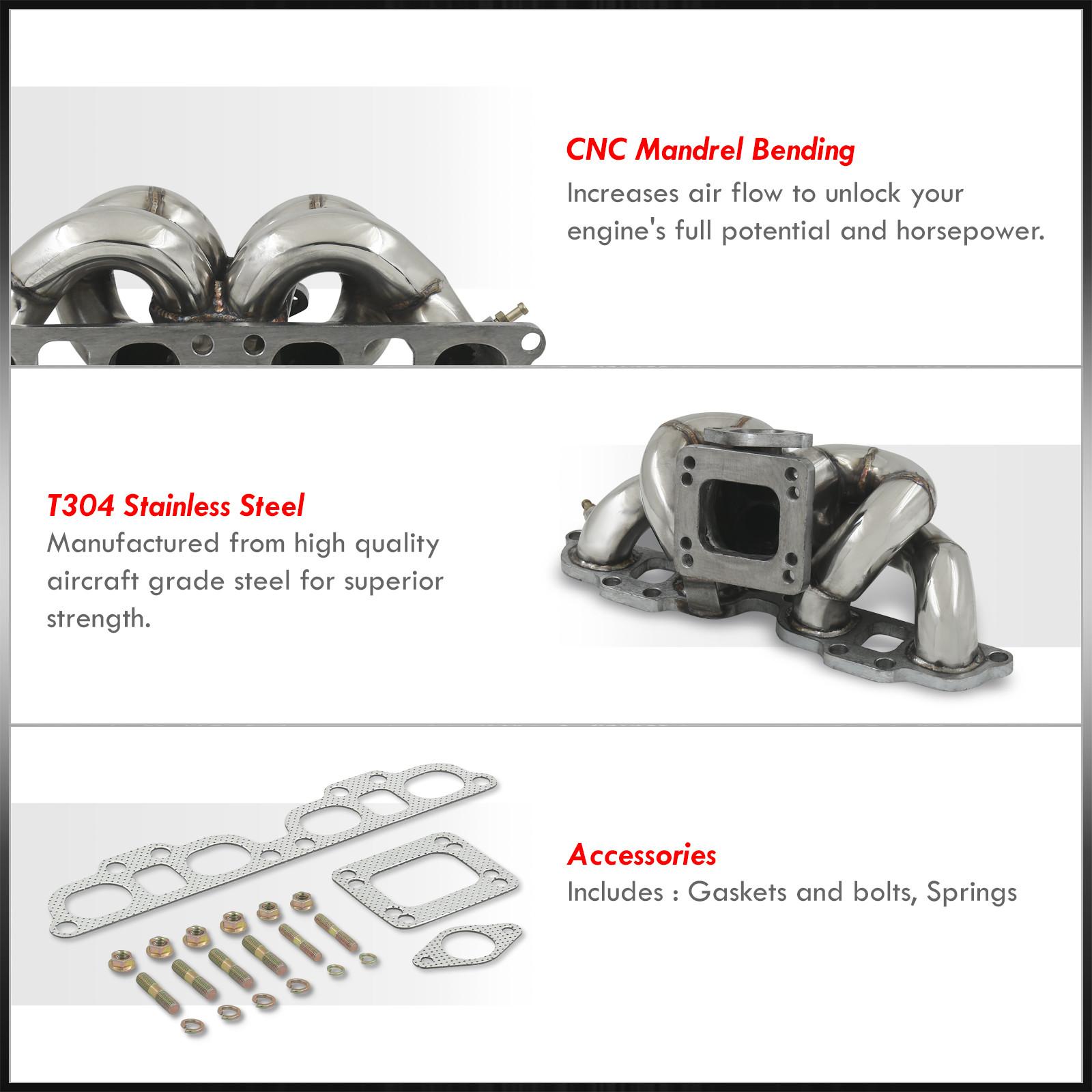 Sr20det Turbo: FOR 240SX SR20 SR20DET ENGINE T3 T4 STAINLESS TURBO