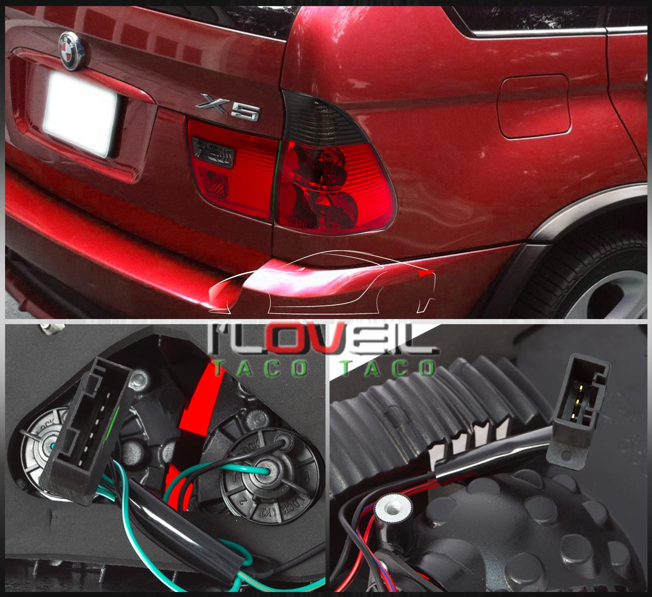 BMW X5 E53 2000-2005 4PC EURO BRAKE TAIL LIGHTS SIGNAL
