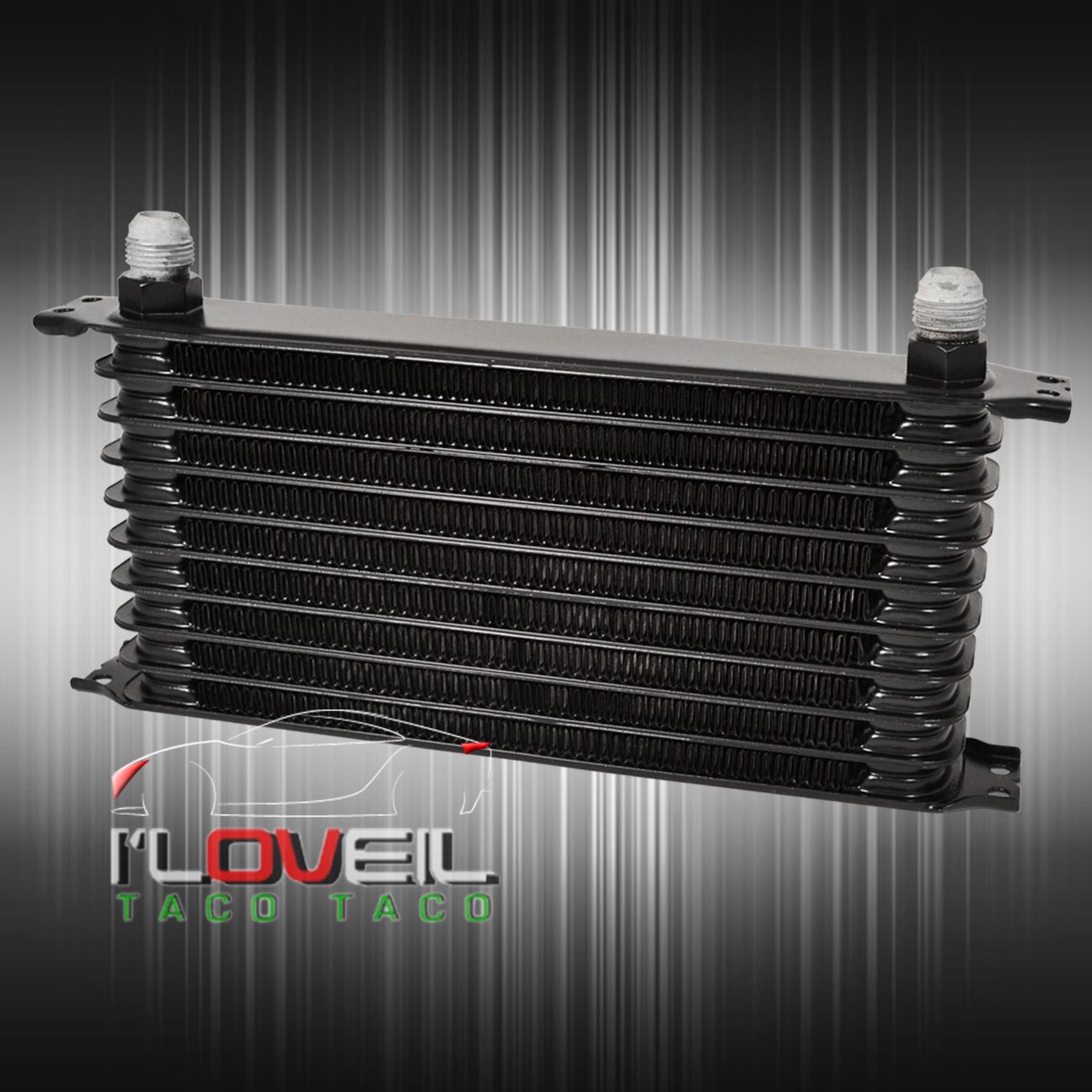 Rear Differential Cooler Kits : Rear differential high flow oil cooler filter relocation