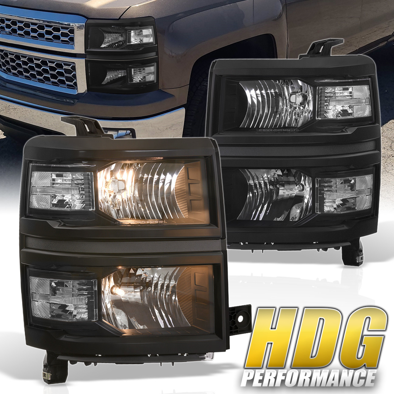 2014 2016 chevy silverado 1500 2500 replacement headlight. Black Bedroom Furniture Sets. Home Design Ideas