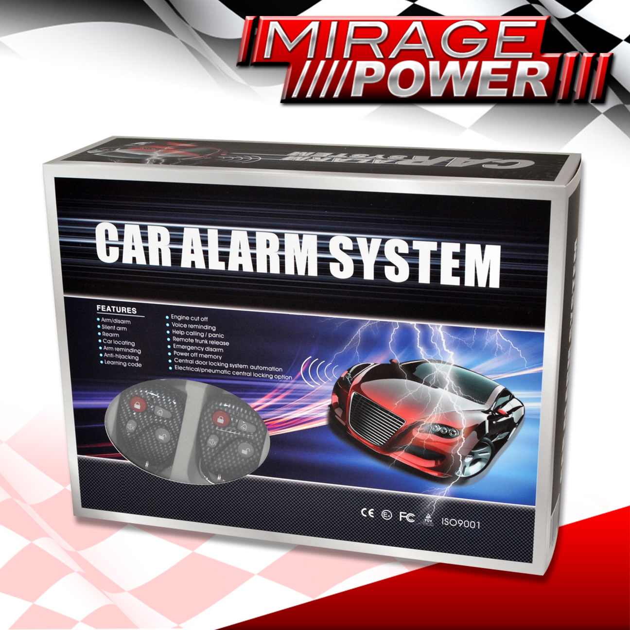 CIVIC CRX QUALITY    CAR       ALARM    SECURITY SYSTEM WITH CENTRAL DOOR LOCK CARBON KEYS   eBay