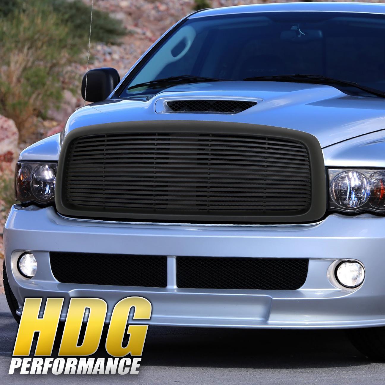05 Dodge Ram: For 02 03 04 05 Dodge Ram 1500 2500 3500 Black Front