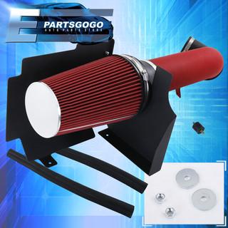 RED 99 00 01 02 Silverado V8 4.8L//5.3L//6.0L Heat Shield Cold Air Intake Kit