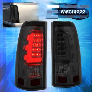 Smoke Lens Led Tube Tail Lights Lamps For 1999 2006 Chevy Silverado Gmc Sierra