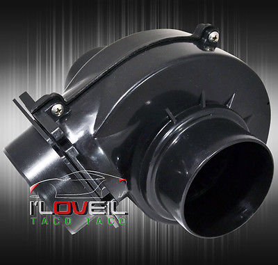 Universal 3 Electric Supercharger Short Ram Cold Air Intake System Engine Motor Ebay