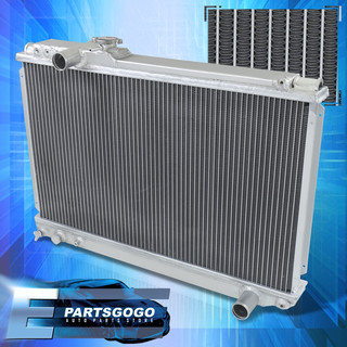 For 86 87 88 89 90 91 92 Supra 7Mge 1Jz Toyota Aluminum Radiator Dual Row  Core