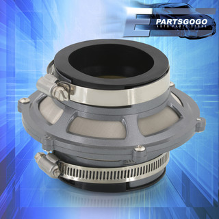 """2.75/"""" Air Bypass Valve Filter Cold Short Ram Intake Hydrolock Racing Blue Ford"""