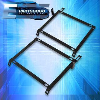 OBX Stainless Steel Racing Seat Brackets For 1996 97 98 99 2000 Honda Civic EK