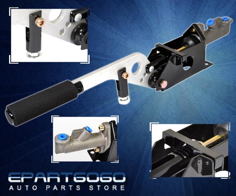 Hydraulic Arm Kit : Hydraulic assist hand brake handbrake rally e lever