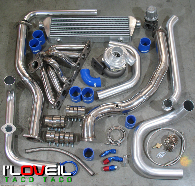 2001 2005 Is300 Altezza T4 T04b Turbo Charger Intercooler