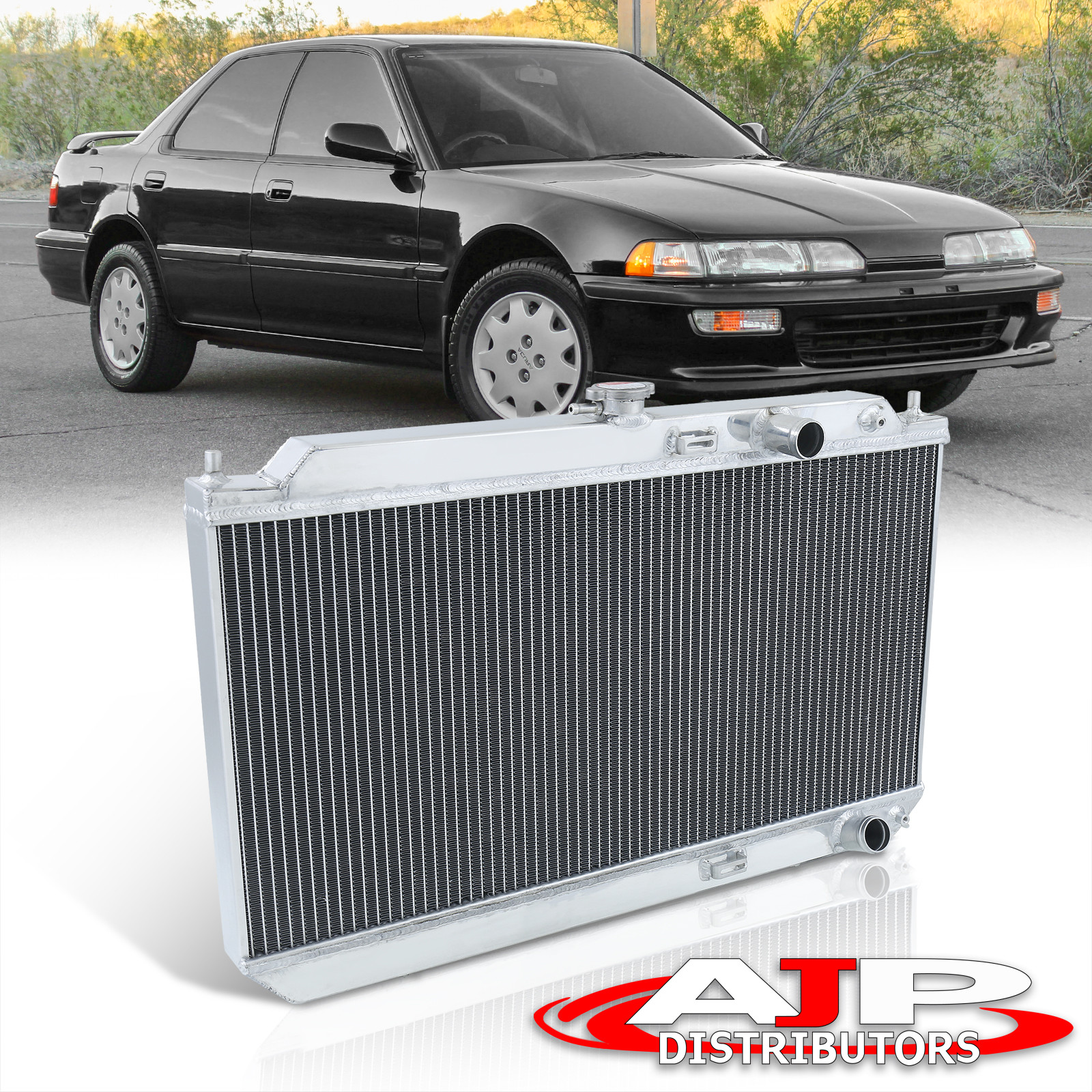 1990-1993 ACURA INTEGRA DA MT ALUMINUM RACING RADIATOR 90