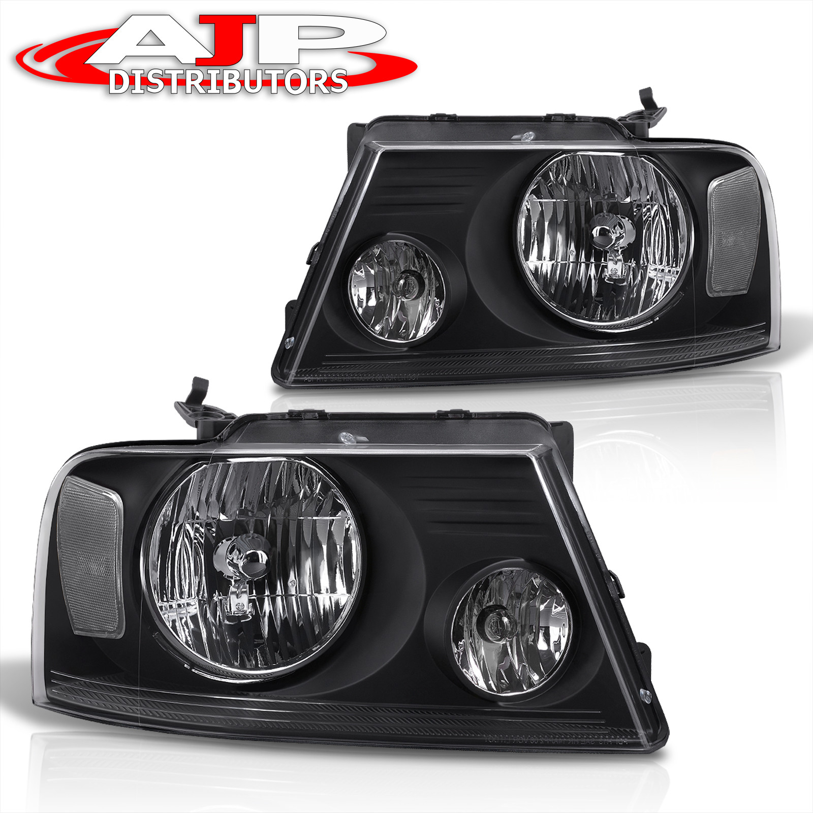 2006 Ford Fusion For Sale >> 2004-2008 FORD F150 PICKUP HEAD LIGHTS HEADLIGHTS BLACK ...
