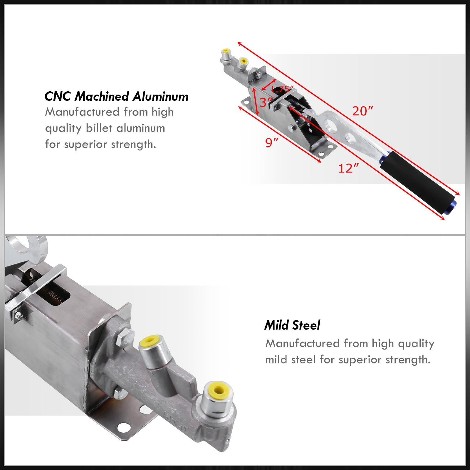 Hydraulic Lever Lock Brake Control : Racing hydraulic handbrake ebrake parking emergency brake