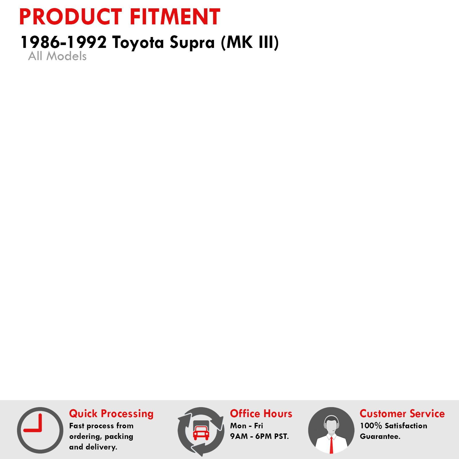 Toyota Collar Partnumber 9038921003: 86-92 TOYOTA SUPRA 3.0L 7MGTE STOCK CT26 BALANCED