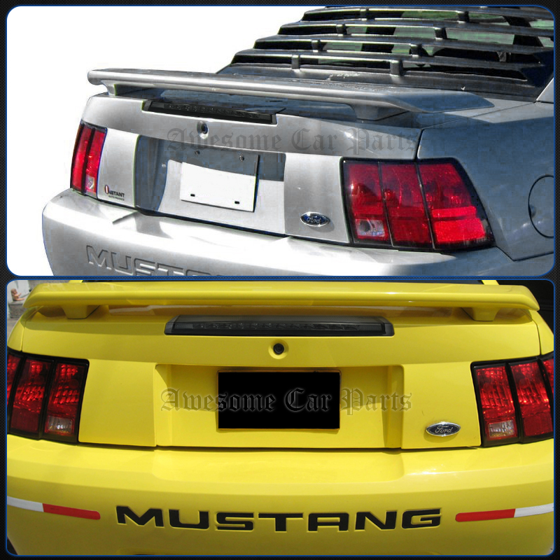 99 04 mustang 2dr gt rear bright led 3rd third trunk brake tail light lamp sm. Black Bedroom Furniture Sets. Home Design Ideas