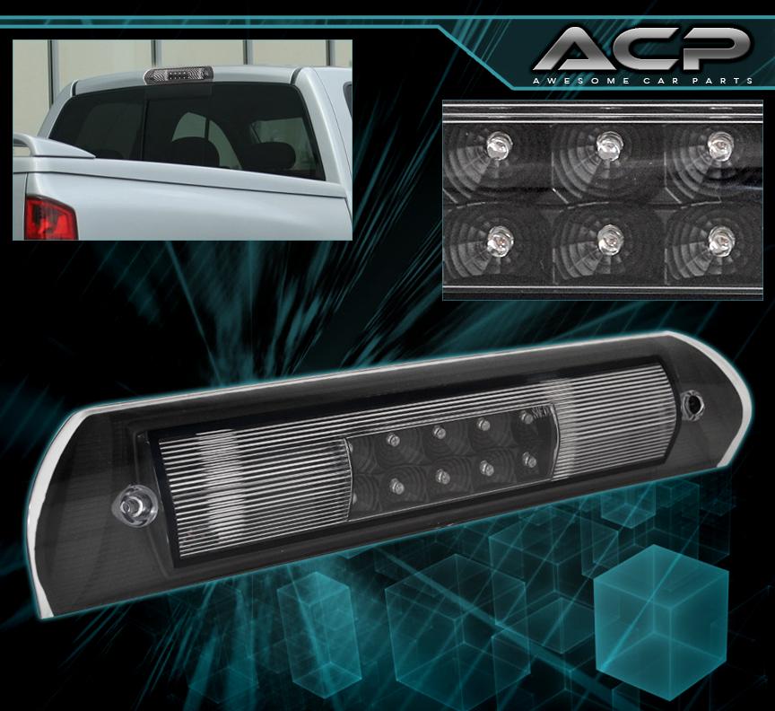 New L E D Red Light Bar 3rd Roof Brake Cargo Lens Rear