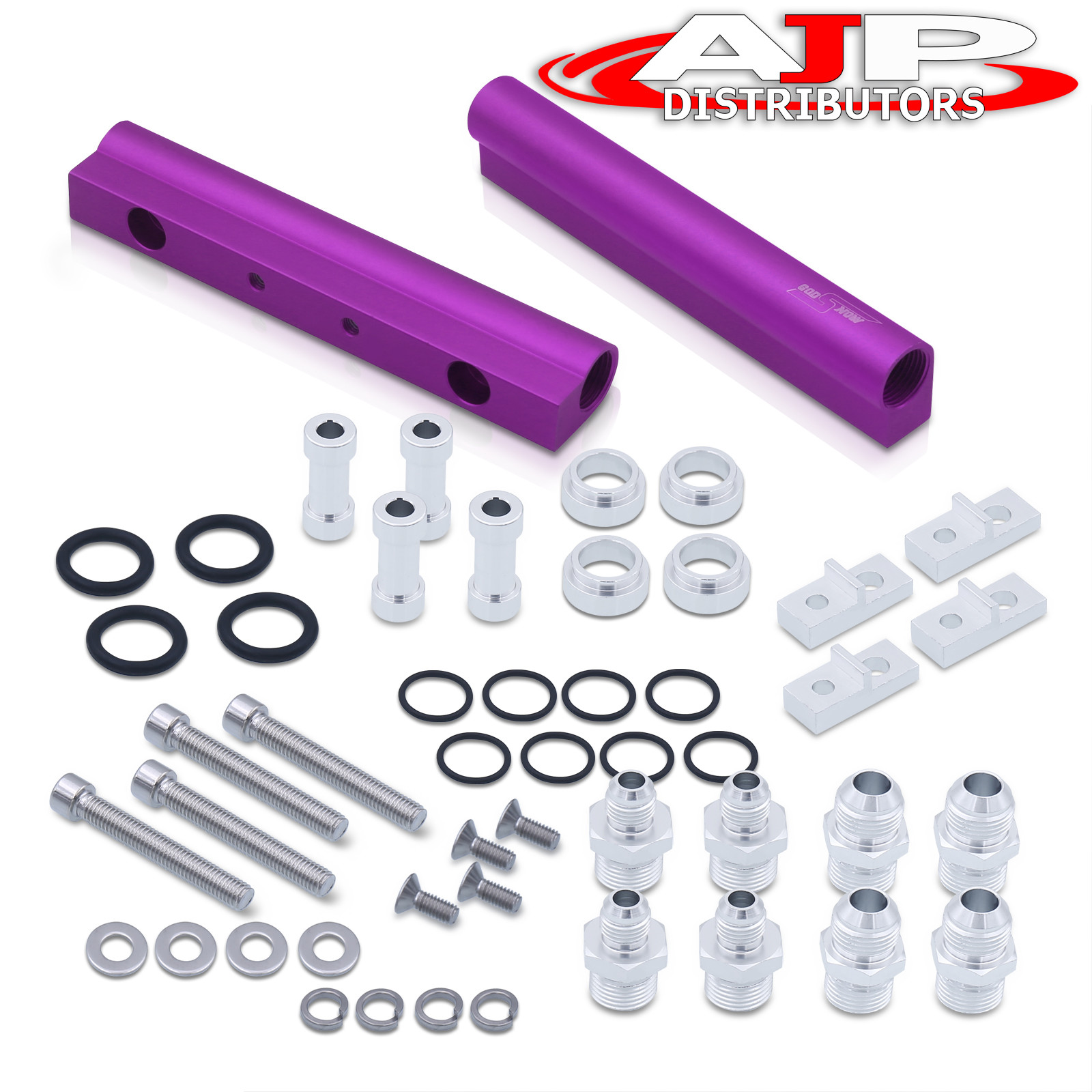 For Rb25Det Rb25 Engine Performance Jdm Race Fuel Injector Rail Assembly Purple