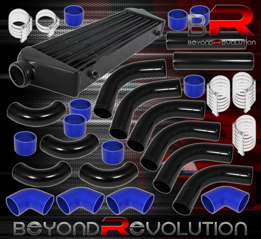 "Couplers Clamps 2.5in 2.5/"" FMIC Intercooler Piping Kit Mandrel Aluminum Bends"