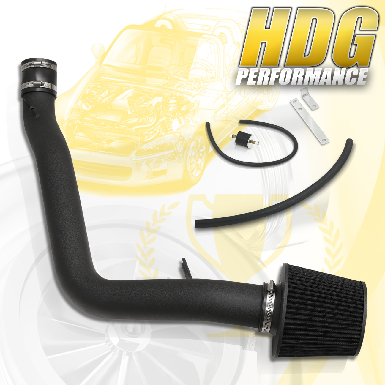 1990-1993 Acura Integra Da Gsr Gs Ls High Flow Air