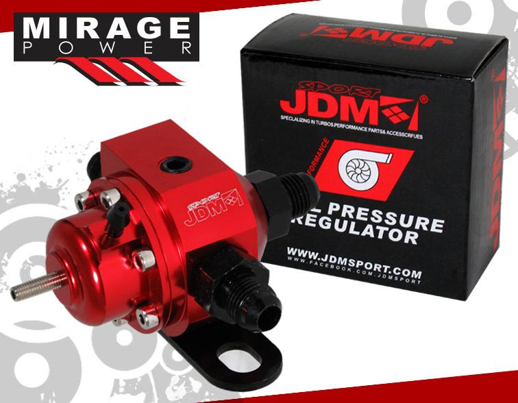 JDM Sport Turbo Gold High Pressure Adjustable Fuel Injection Rail Regulator