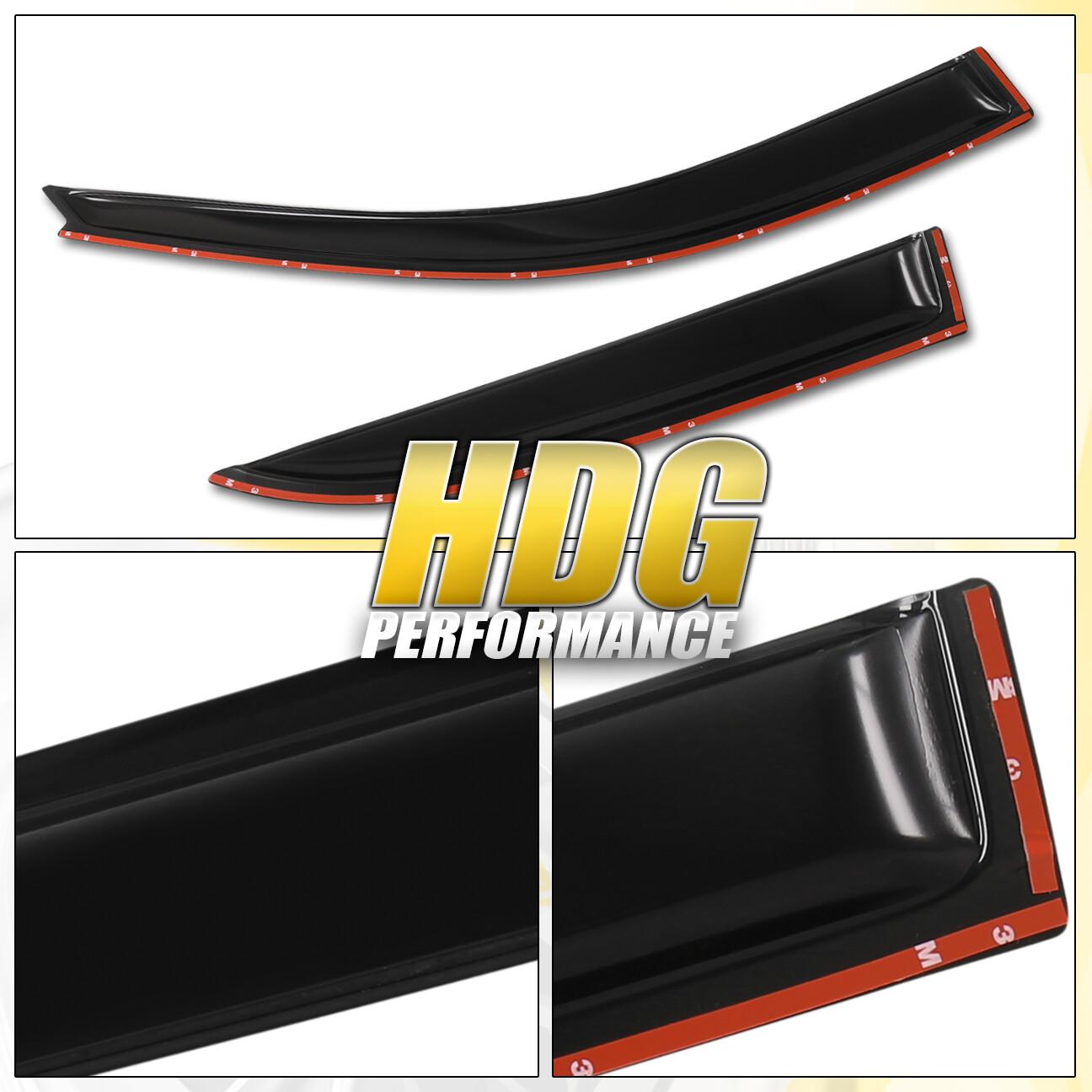 Fit 00-06 Nissan Sentra Tape-On Vent Window 4 Door Side Visor Guard Vip Jdm