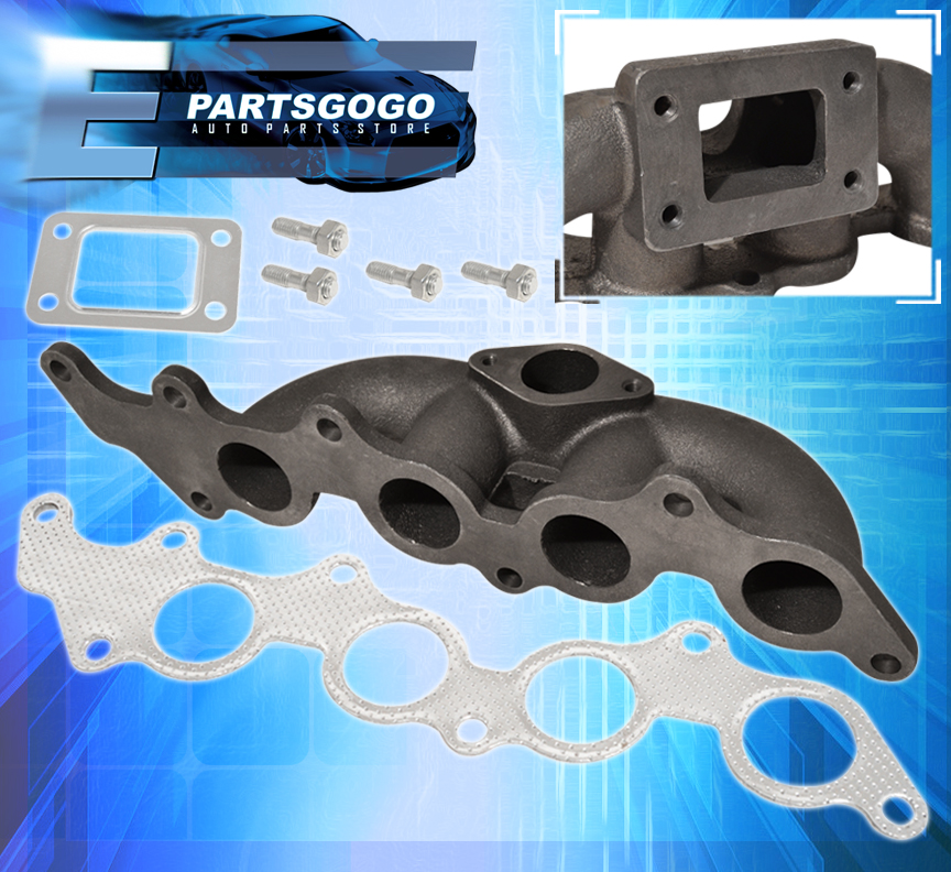 T3 Performance Exhaust Turbo Boost Manifold For 03 07 Ford: 03-07 FOCUS 2.3L / 04-06 MAZDA 3 2.0L T3 T3/T4 FLANGE