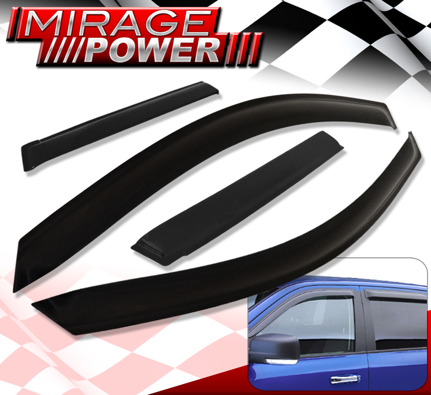 Vent Window Shade Visors Rain Guard for Toyota Yaris Sedan
