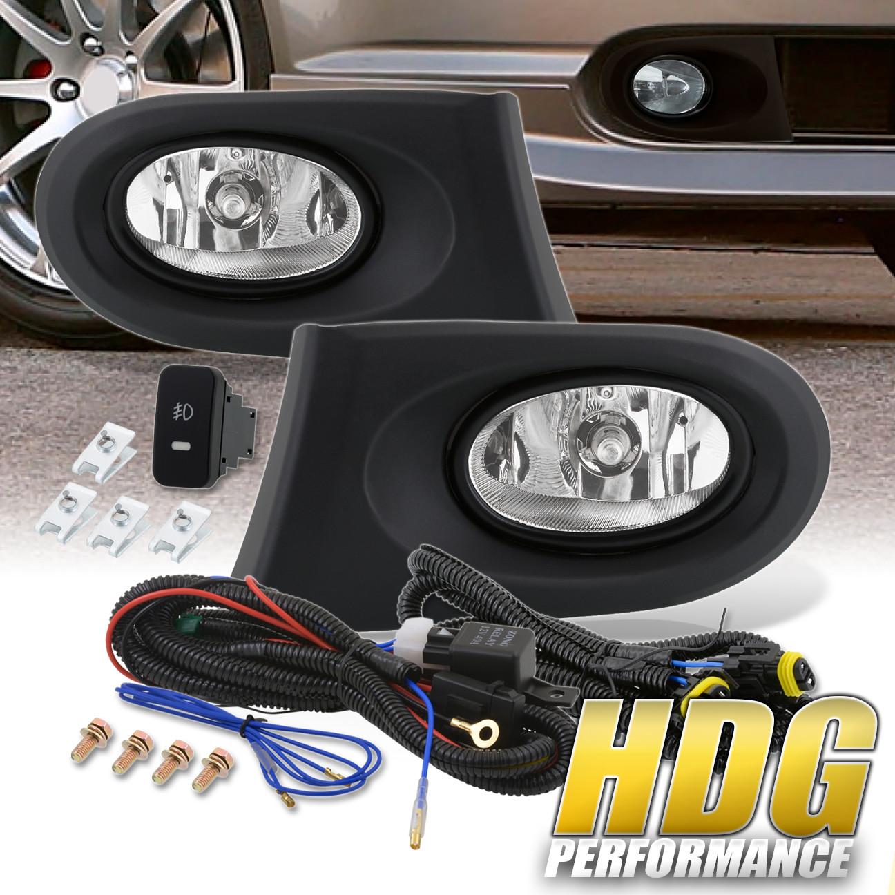 For 2002-2004 Acura Rsx Dc5 Type S Jdm Clear Len Fog Light
