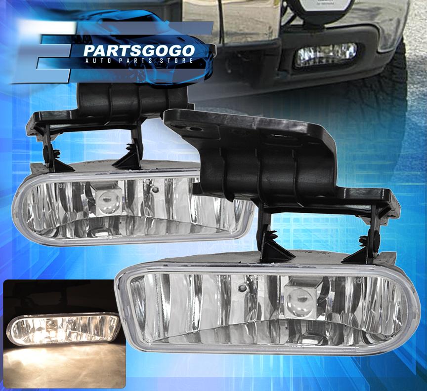 1999 2002 Chevy Silverado Front Driving Fog Lights Lamp
