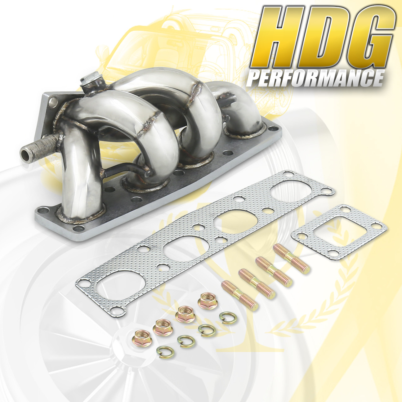 1996 Mazda Protege Exhaust Engine Diagram Stainless Steel Performance Turbo Manifold For 99 09 Rh Ebay Com Lx