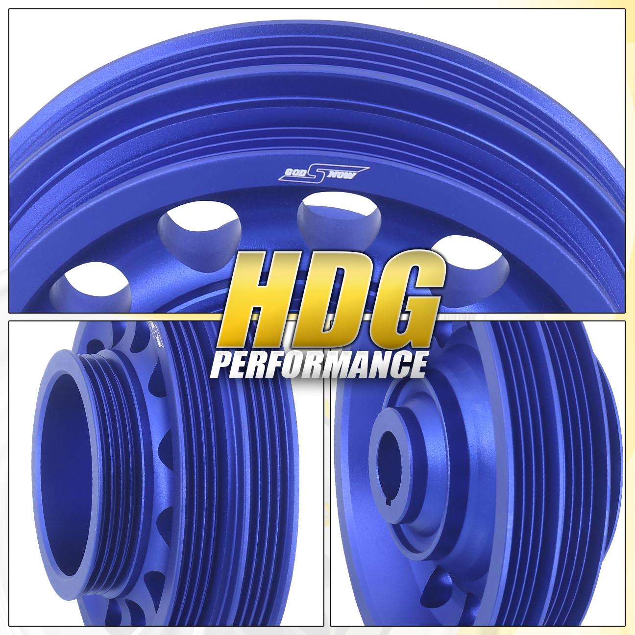 92-00 Honda Civic SOHC D15 D16 Light Weight Blue Aluminum