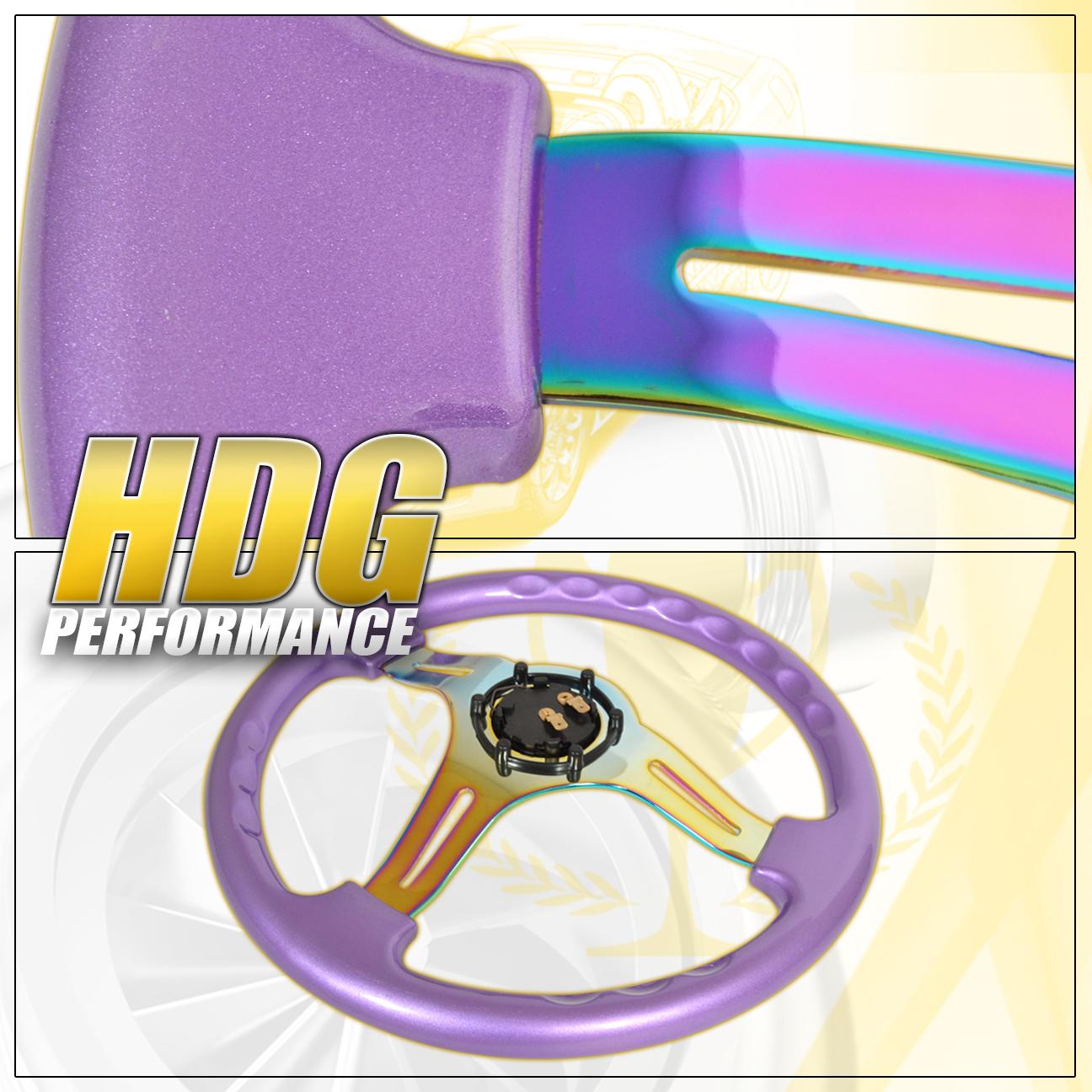 For Lexus Acura Infiniti VIP Heavy Duty Purple Neo Chrome