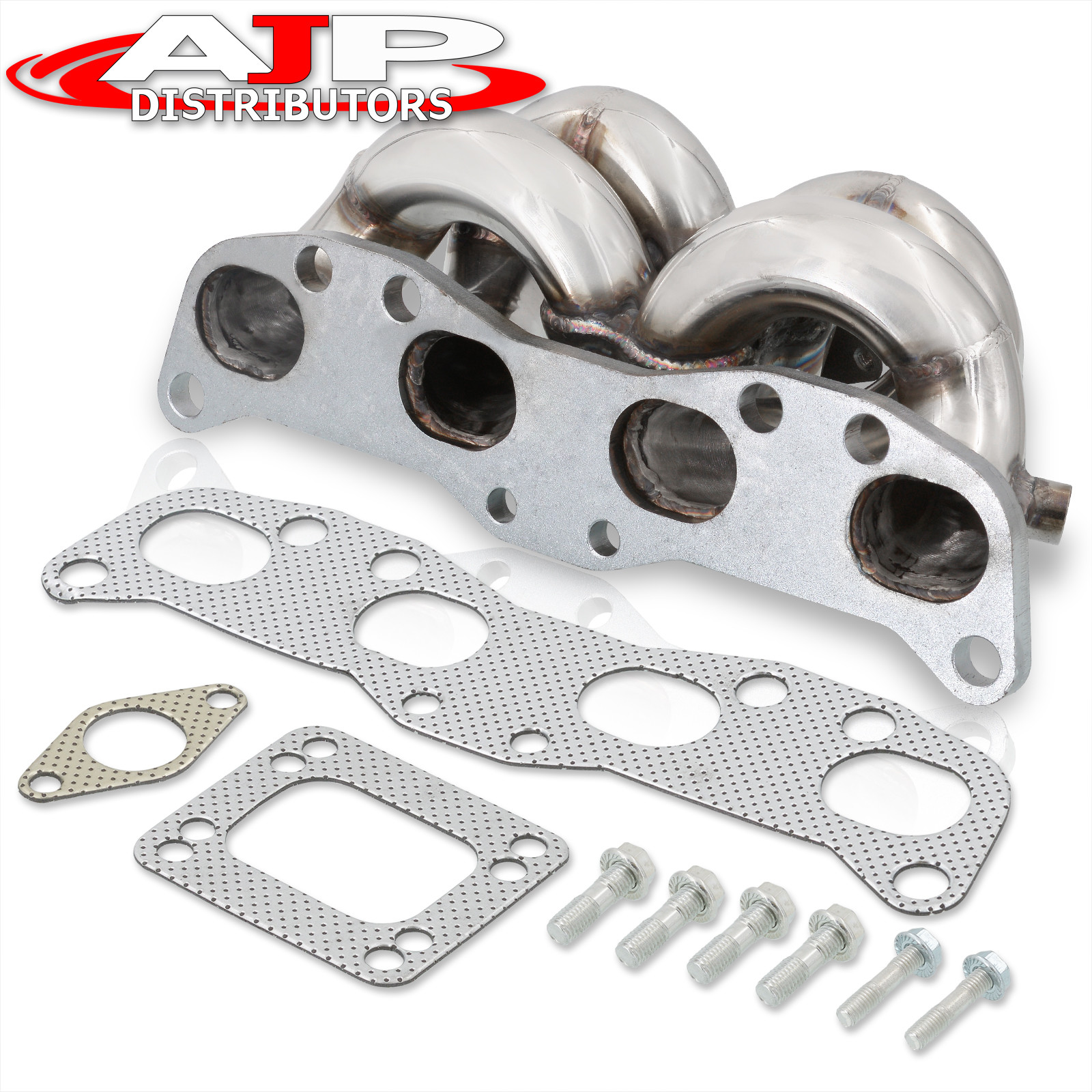 Stainless Exhaust Manifold Head FOR Nissan Silvia S13 180SX CA18DET Top Mount