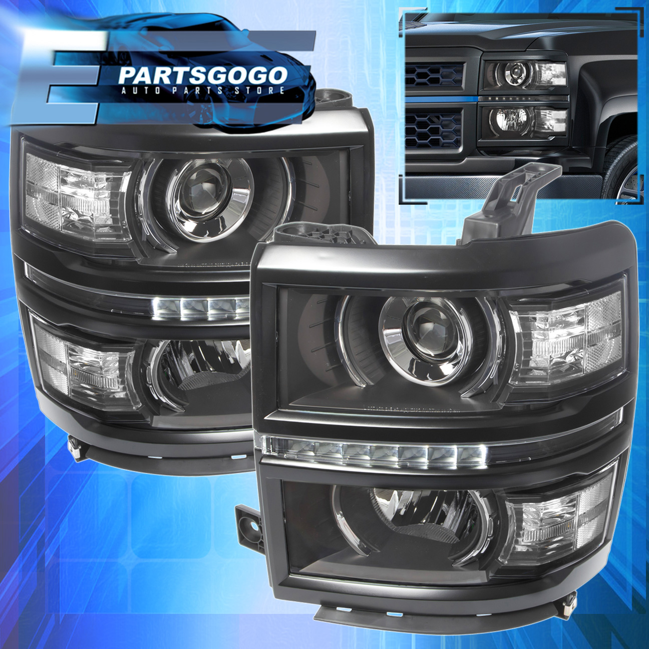 Silverado » 1994 Chevy Silverado Headlights - Old Chevy Photos ...