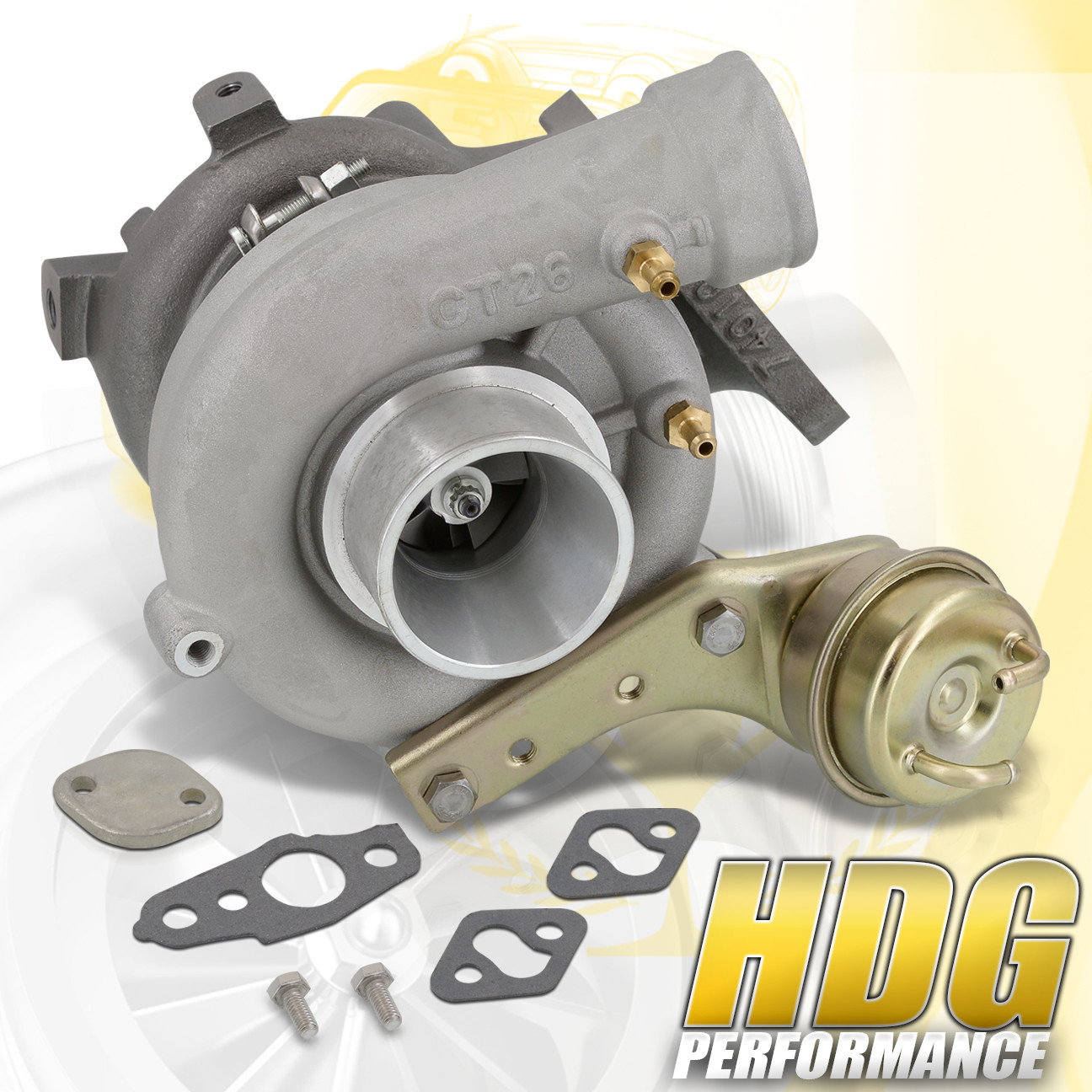 For Toyota Celica 3s Gte Turbo Charger Boost Ct26 Oil Cooled Turbine