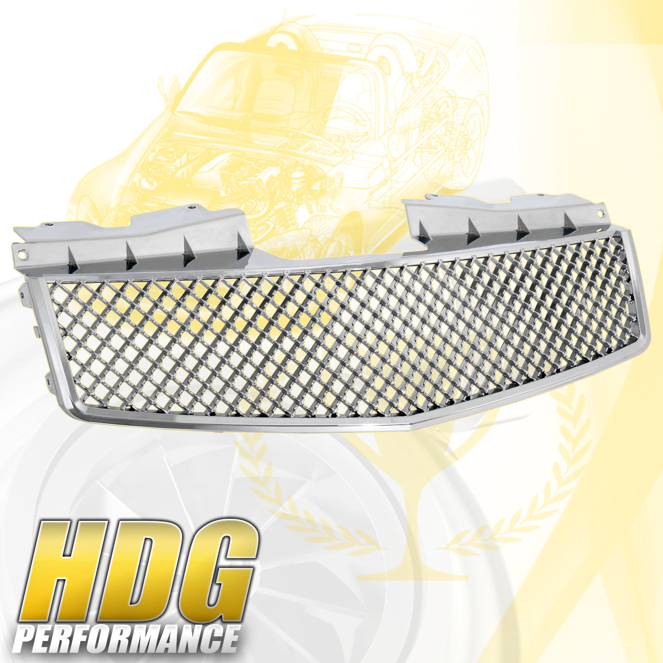 For 2003-2007 Cadillac Cts Vip Front Bumper Upper Hood