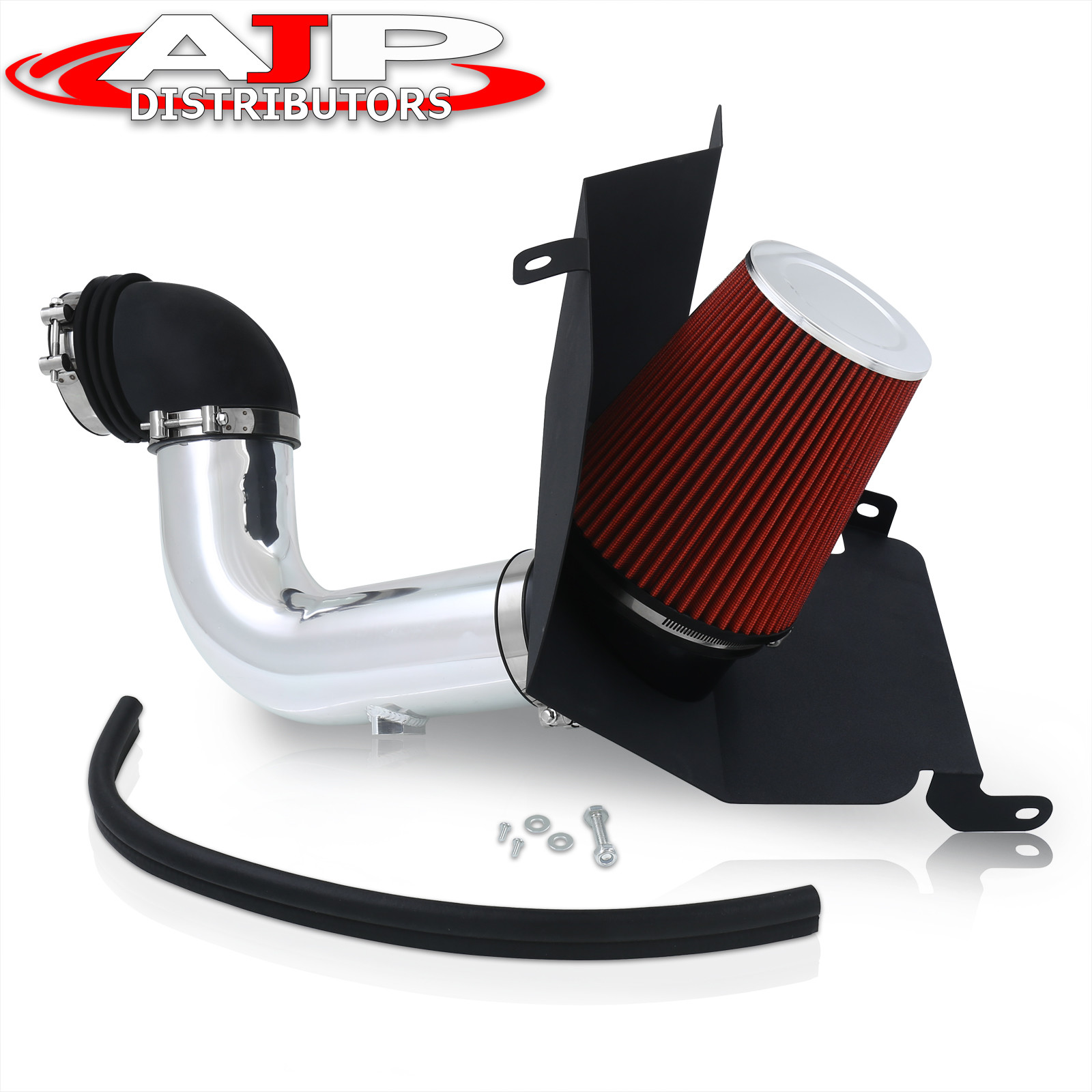 Cold Air Intake System with Heat Shield Kit Filter Combo RED for 03-07 Dodge Ram 2500//3500 5.9L L6 Diesel
