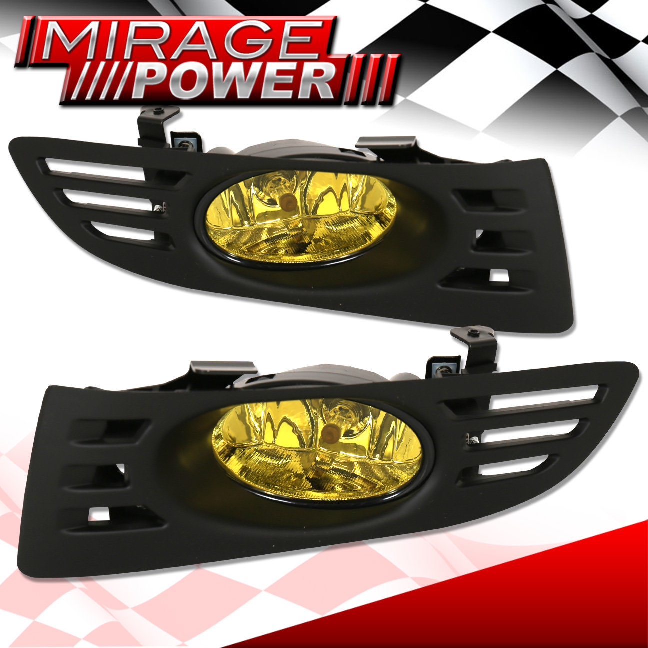 Yellow Lens Bumper Oem Fog Light Lamp   Wiring For 2003