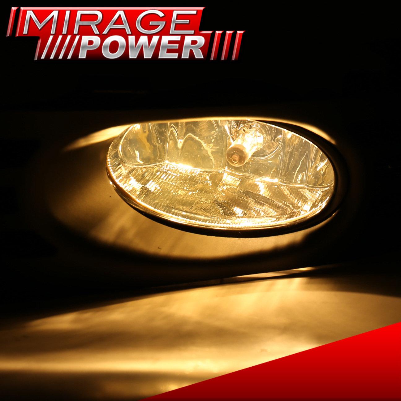 Yellow Lens Bumper Oem Fog Light Lamp   Wiring For 2003