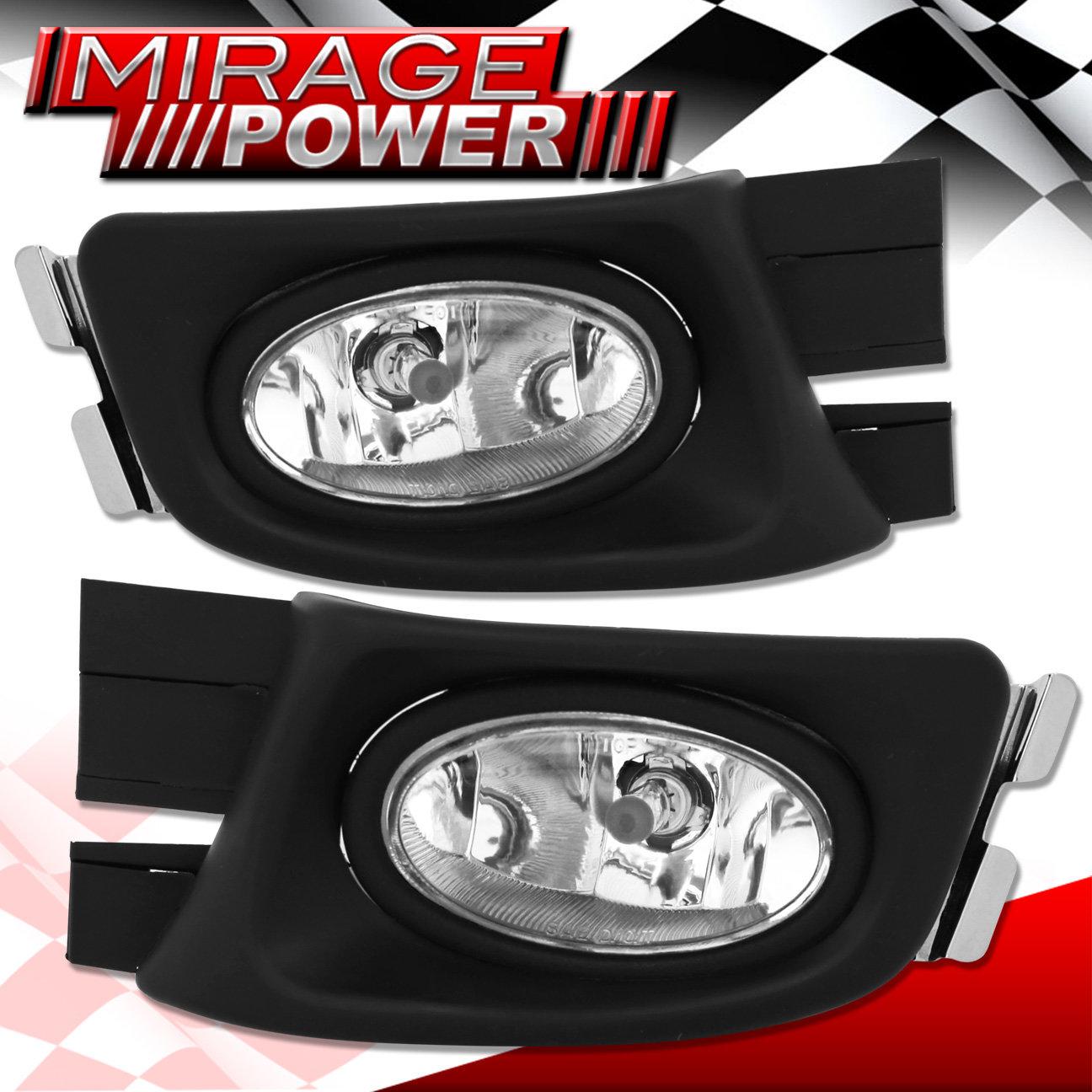 Clear Lens Bumper Oem Fog Light Lamp   Wiring For 2003