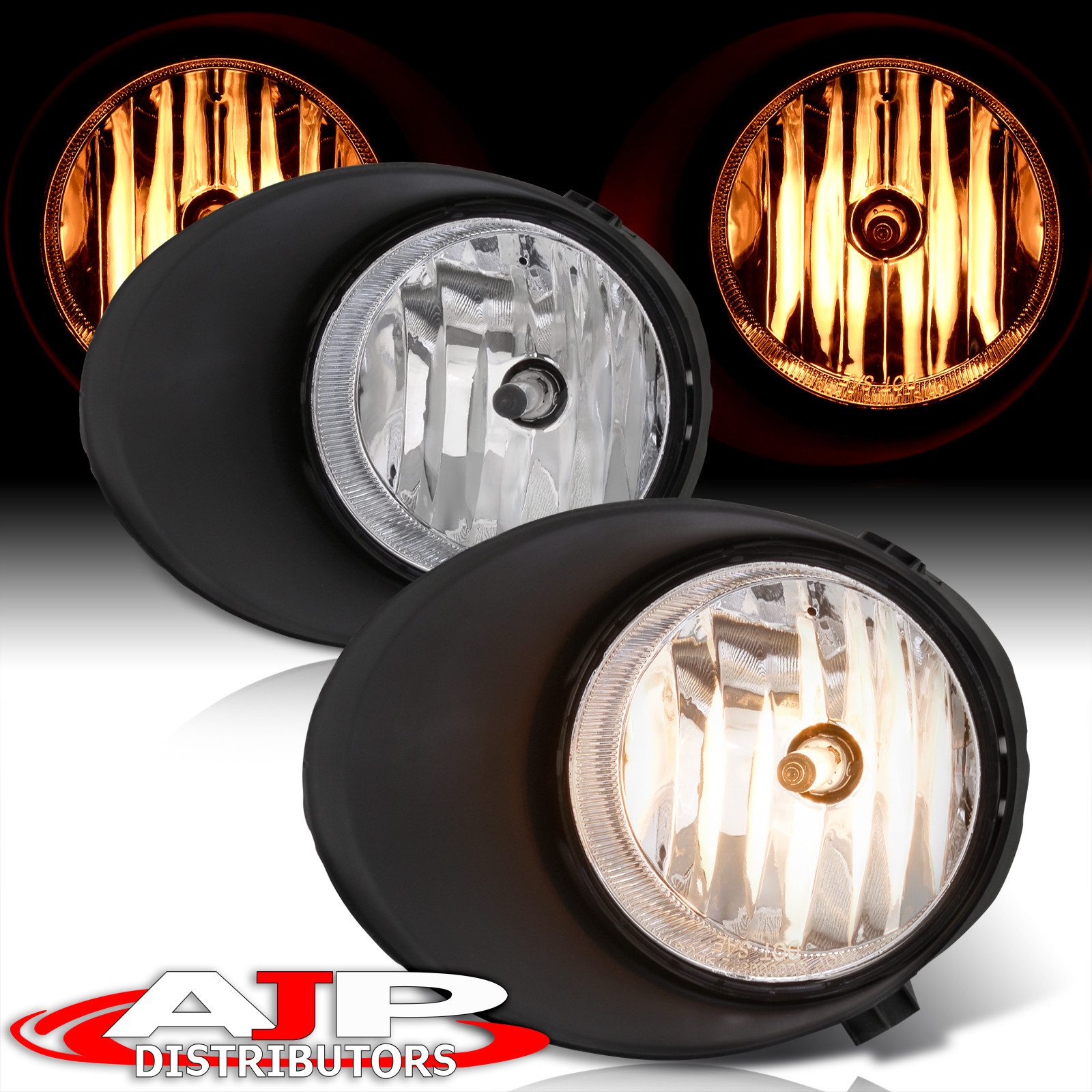 Details about For 07 08 09 10 11 12 Tundra Jdm Front Fog Light Driving  Chrome Housing Clear