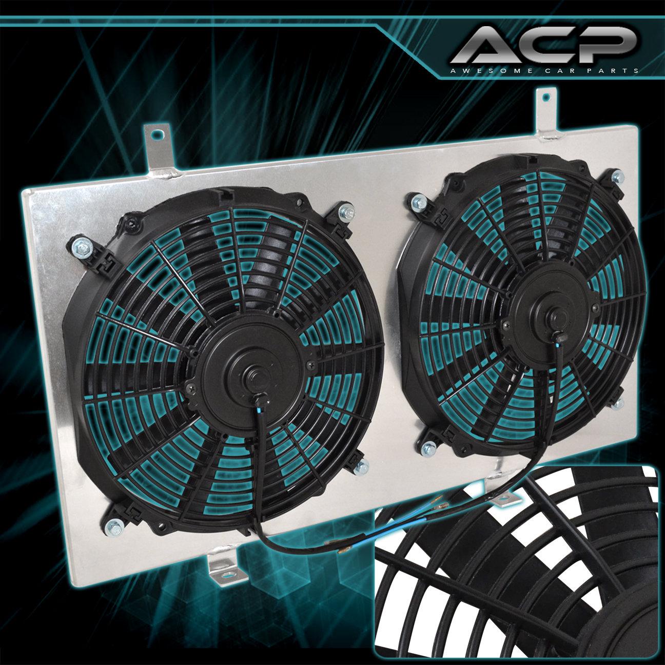 For 89 90 91 92 93 94 95 240SX S13 CA18 Aluminum Radiator Fan Shroud Kit JDM