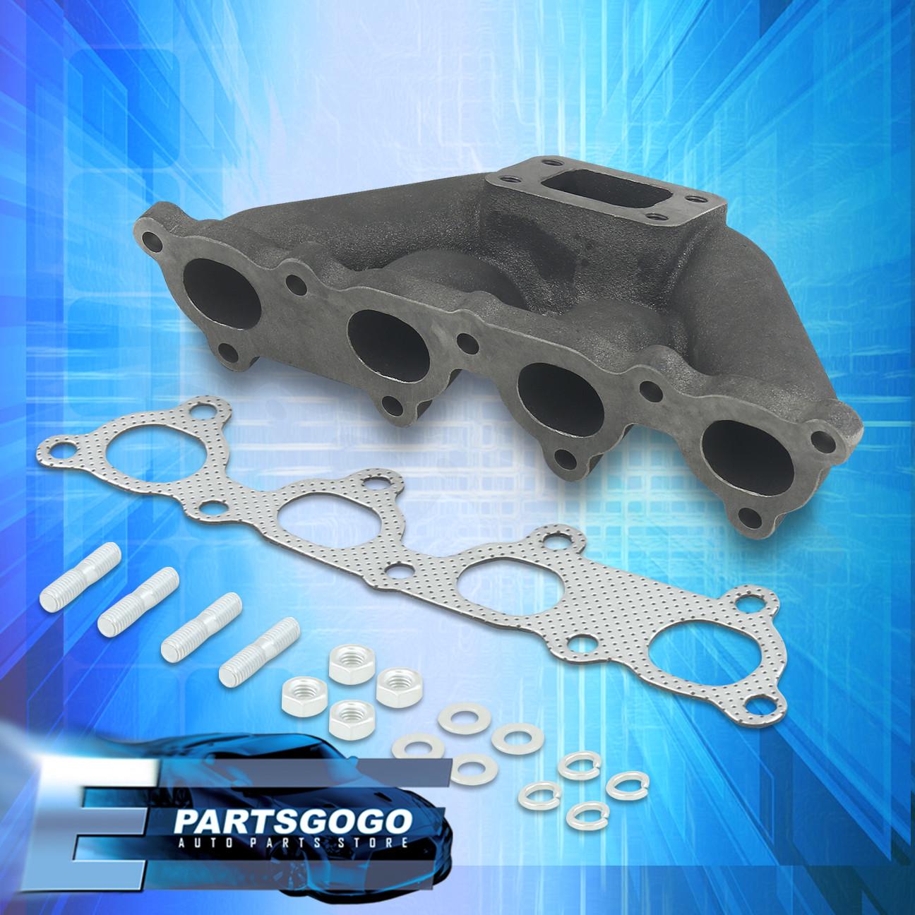 Cast Iron Turbo Manifold Exhaust For Honda Civic CRX EG EK Del Sol D-Series