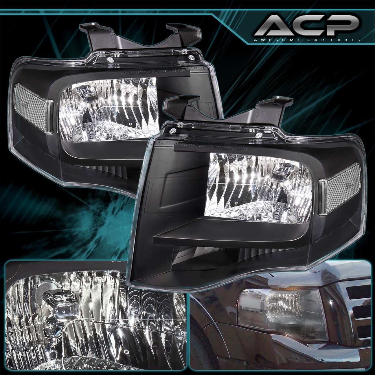 2008 ford expedition headlight bulb replacement