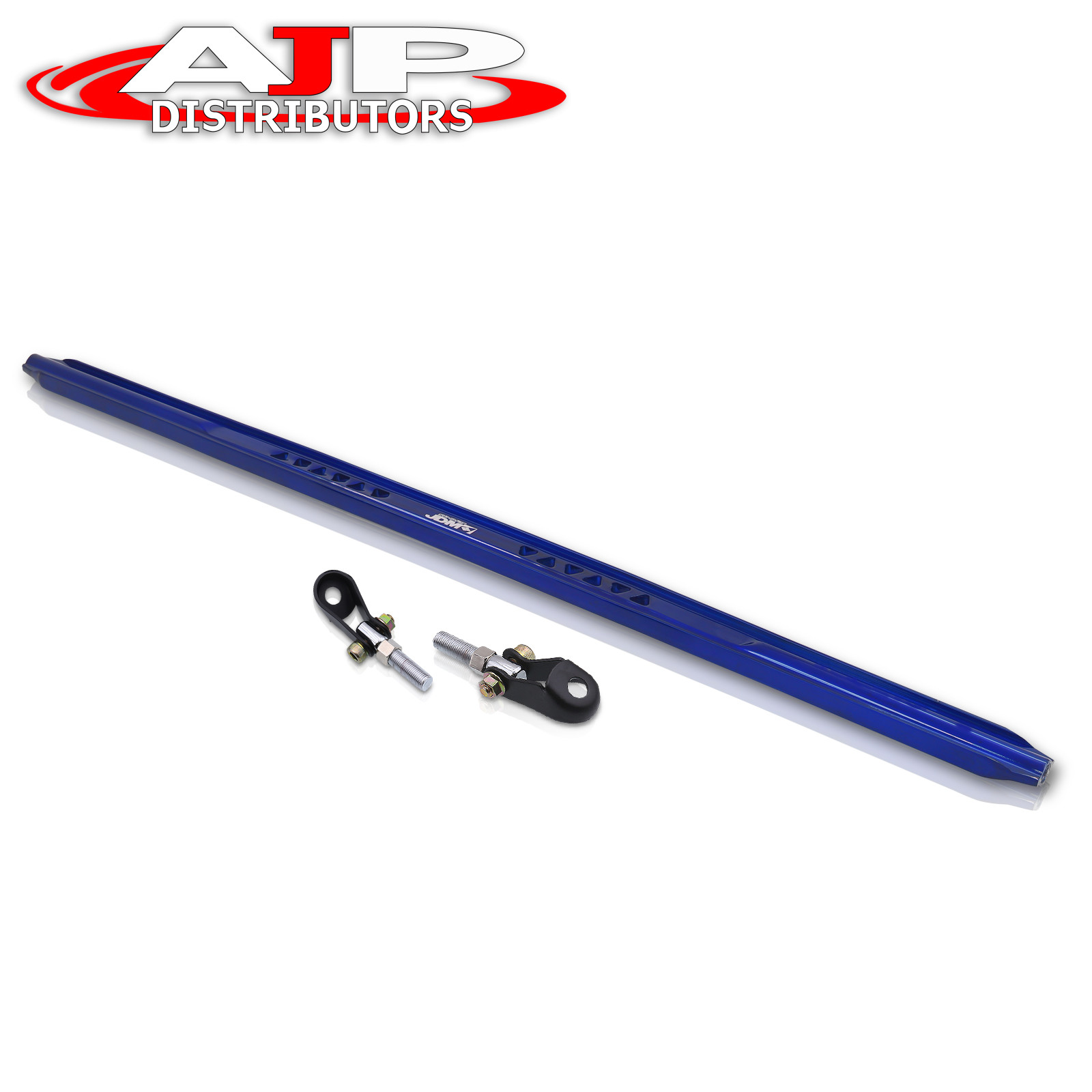 For Toyota Corolla Aluminum Jdm Sport Rear Upper C-Pillar Bar Strut Brace Tower Frame Bar Blue