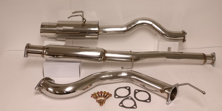 Catback Muffler Exhaust System Stainless Steel For Acura - 1994 acura integra exhaust system