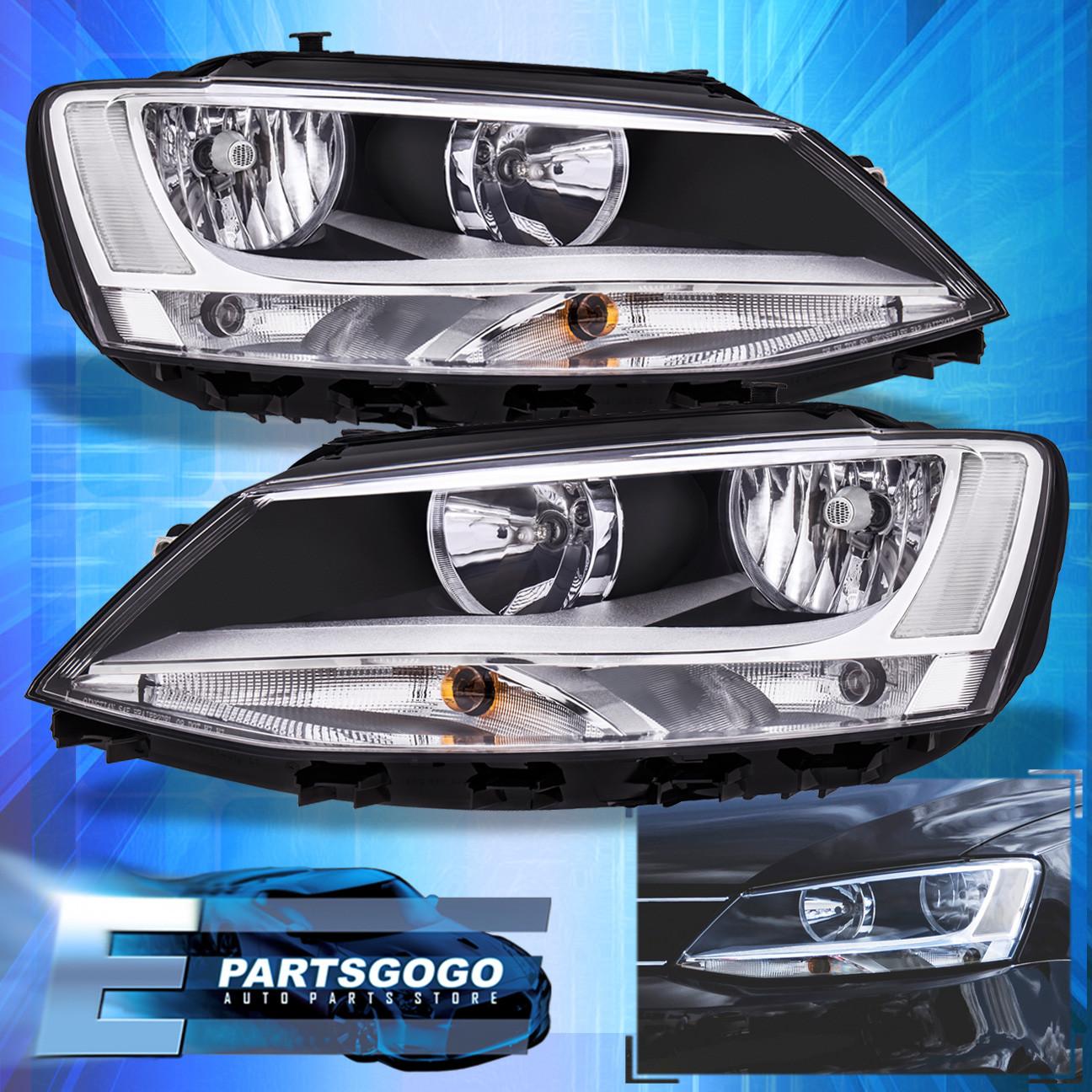 Details About Clear Headlight For 2017 Volkswagen Vw Jetta Headlamps Reflectors